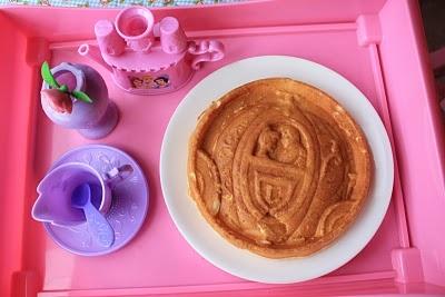 ... Munchies: waffles- a Disney Princess waffle maker (Cinderella's Coach