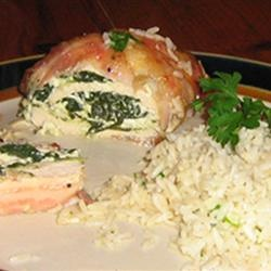 Bacon-Wrapped Chicken Stuffed with Spinach and Ricotta Allrecipes.com