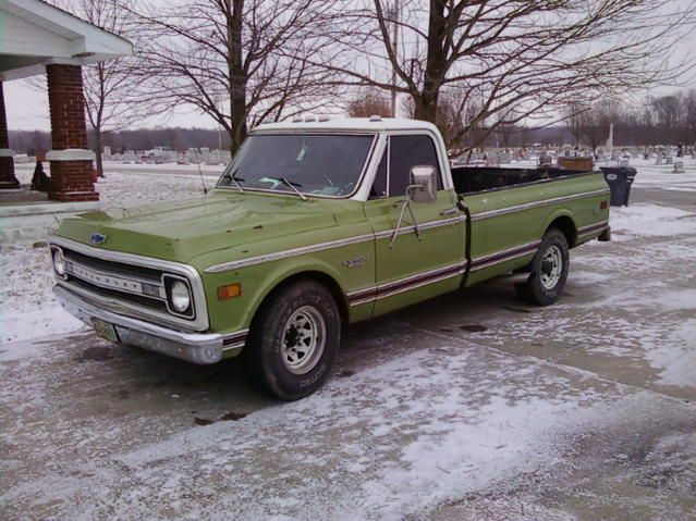 1969 Green Chevy truck | that truck of ours | Pinterest