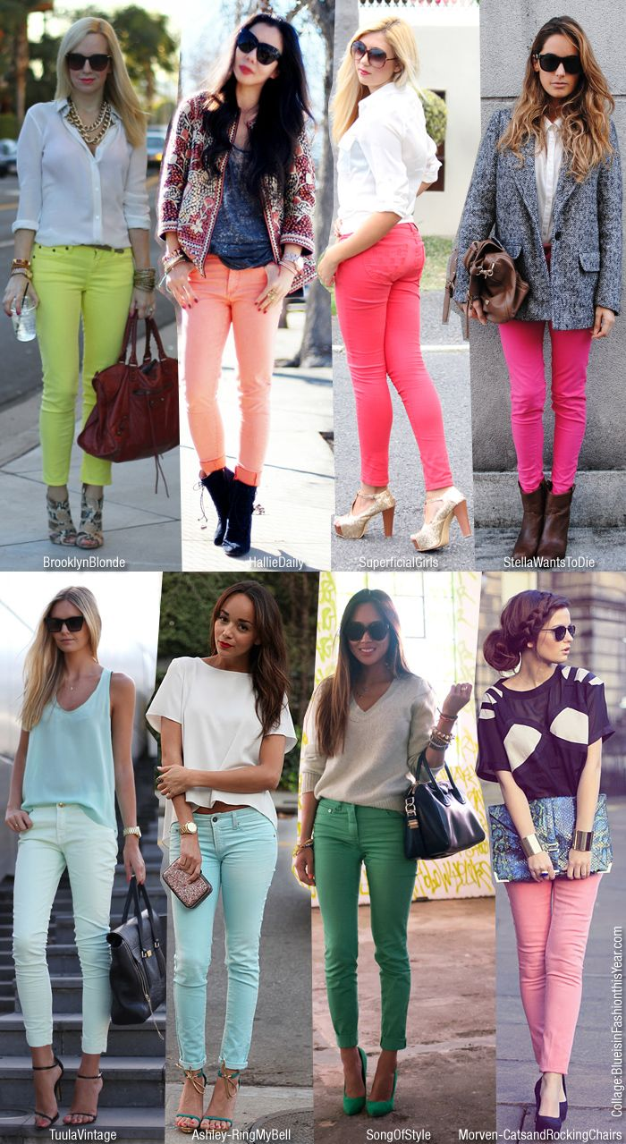 colored jeans!!