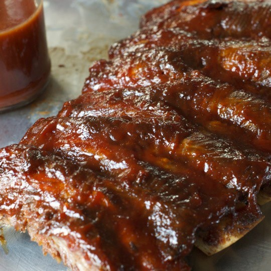 Oven-Baked Barbecue Ribs recipe | Summer Barbecue | Pinterest