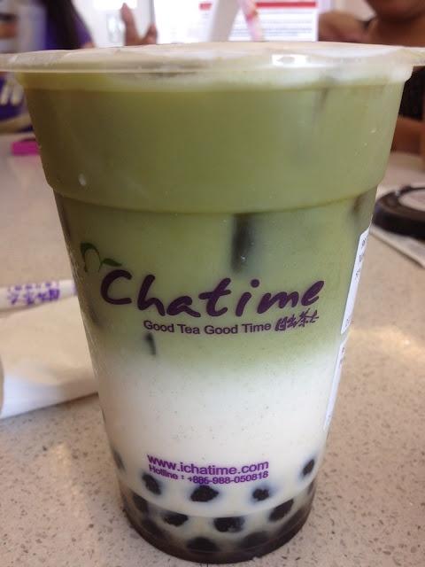 Matcha Green Milk Tea | Food Artistry | Pinterest