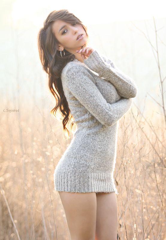 Sweater dresses ♥ | Keep him looking | Pinterest