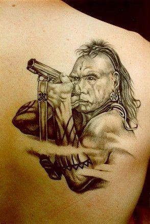 Cherokee indian warrior tattoos joy studio design for Native american warrior tattoos