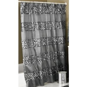 Sinatra Silver Shower Curtain For The Home Pinterest