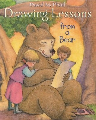 David McPhail virtual book club for kids. Drawing Lessons from a Bear from My Book Retreat.