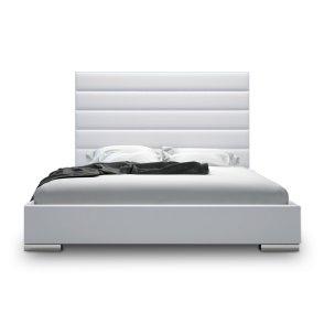 Prince White Platform Bed Decor Pinterest