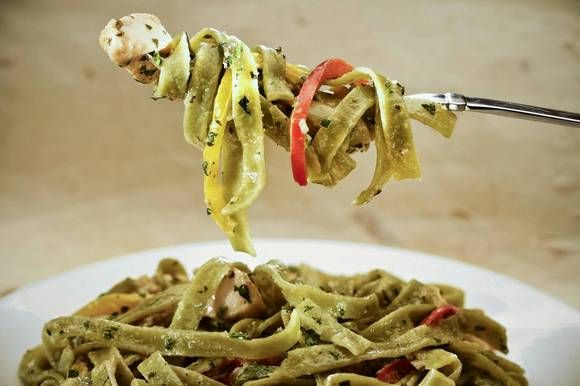 Pizza Kitchen's chicken tequila fettuccine. Chicken tequila fettuccine ...
