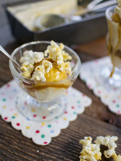 Popcorn Ice Cream Recipes — Dishmaps