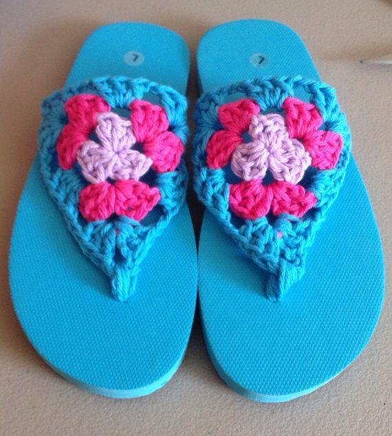 Crochet Flip Flops : Crochet Flip Flops Crochet Pinterest