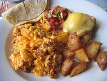 chorizo and eggs | Tex Mex | Pinterest