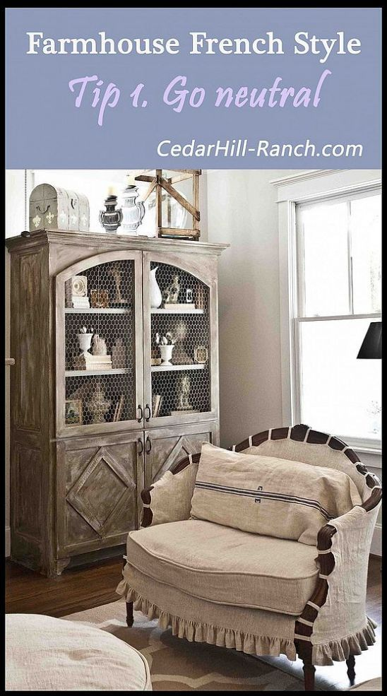 Farmhouse french style get the look - French farmhouse style ...