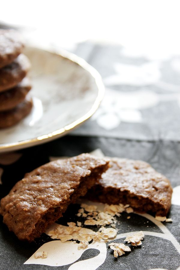 Mocha Oatmeal Cookies 2 | Recipes | Pinterest