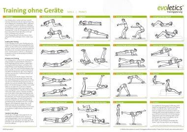 training ohne ger te sport poster rokaho 39 s circlemania pinte. Black Bedroom Furniture Sets. Home Design Ideas