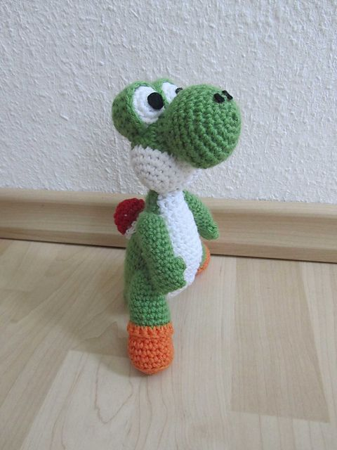Crochet Patterns Yoshi : Yoshi Amigurumi Free Pattern Crochet Pinterest