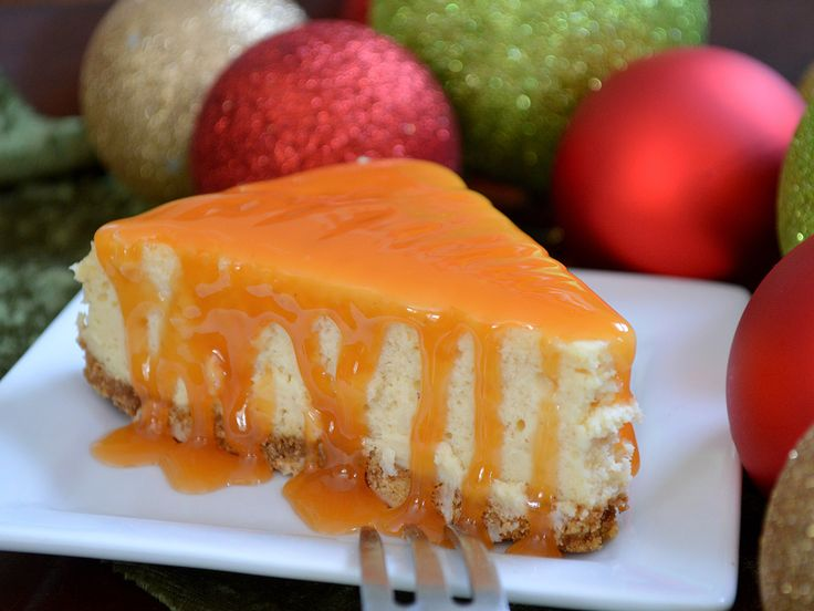 Eggnog Cheesecake- sinfully delicious. Easy to follow recipe.