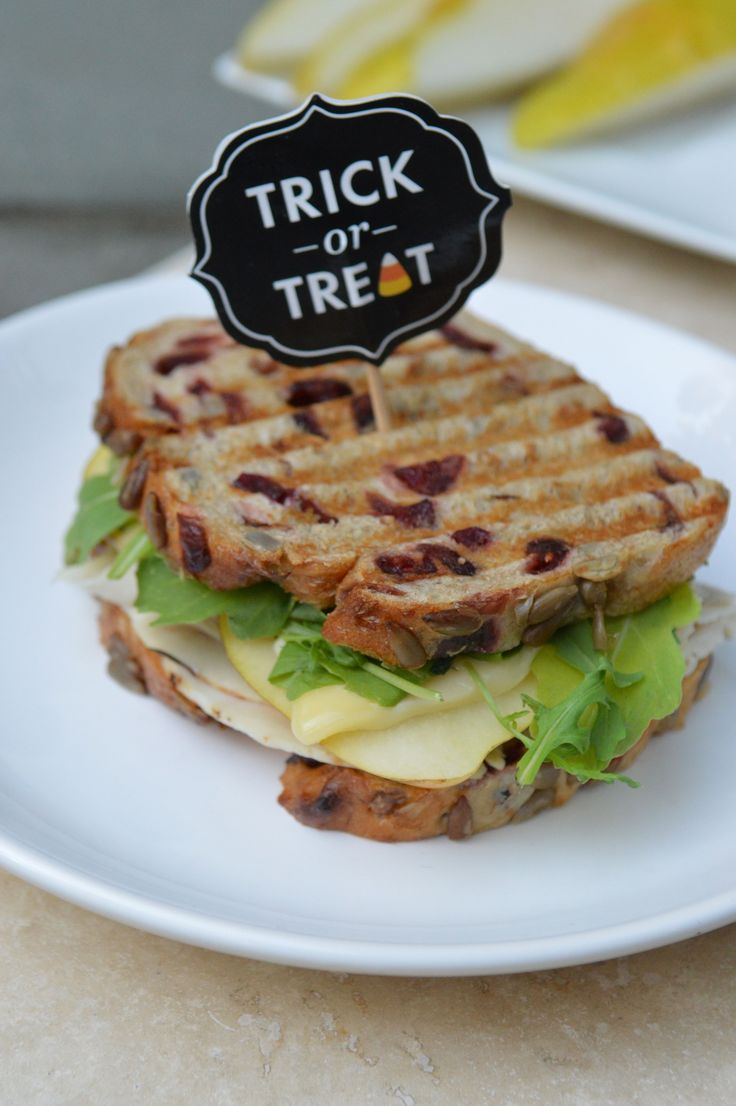 Brie, Roasted Turkey, and Pear Panini | Panini Perfection | Pinterest