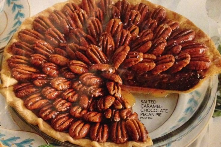 Salted Caramel Chocolate Pecan Pie | These Are A Few Of My Favorite T ...
