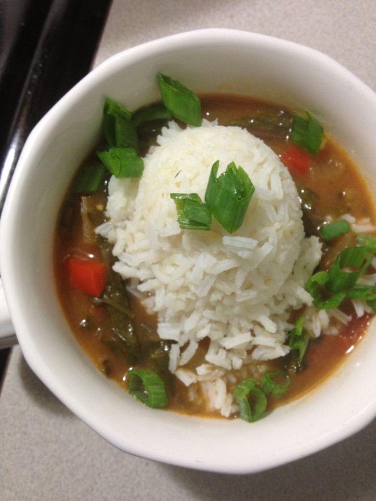 Green Gumbo #Creole #MardiGras #Gumbo | soups | Pinterest