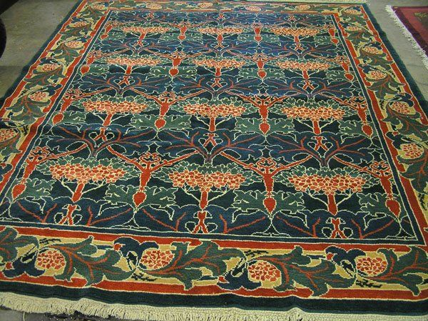 Arts crafts style rug loveofrugs arts craft style for Arts and crafts style rug