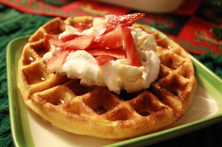 Light, Crisp Waffles | Recipe