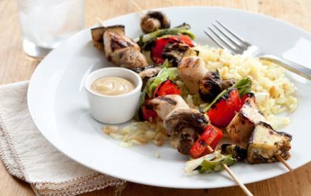 Honey Mustard Chicken and Veggie Kabobs | Whole Foods Market
