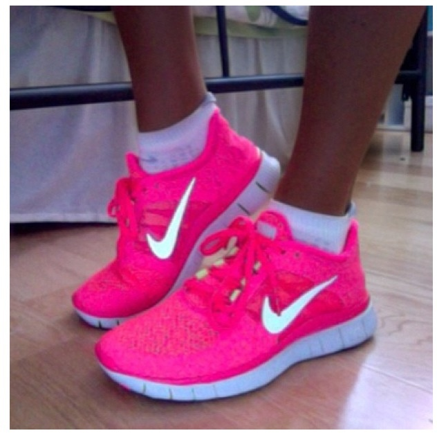 Cute work out shoes,If I had these I'd probably be at the gym more