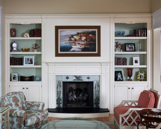 Pin by carol bangle on home ideas i like pinterest for Family room built in ideas