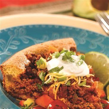 Have-It-Your-Way Taco Pie | Recipe