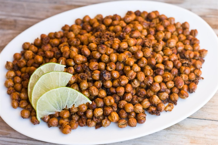 Roasted chickpeas. Used garlic powder instead of fresh and was still ...