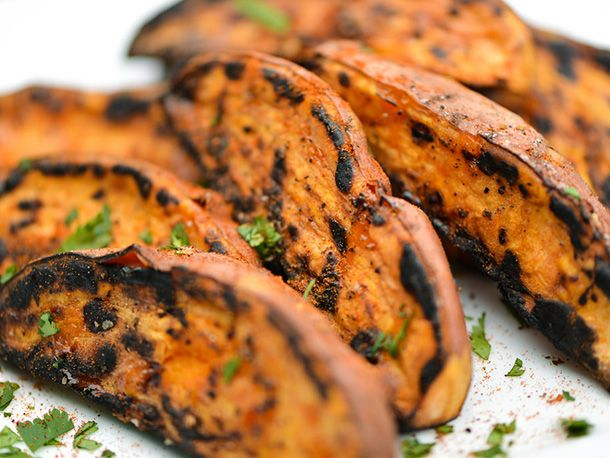 Grilled Sweet Potato Wedges | Serious Eats : Recipes