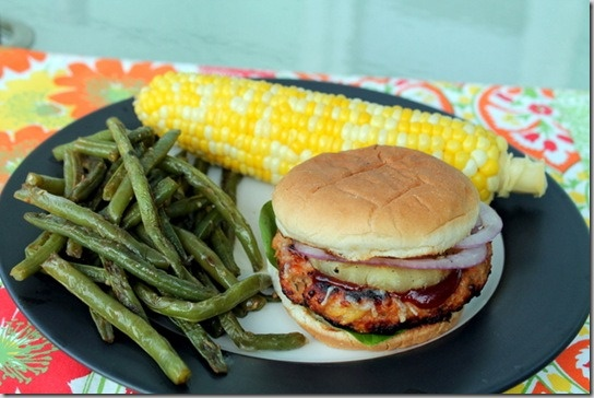 hawaiian chicken burgers | Salty & Sweet | Pinterest
