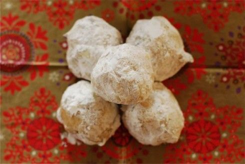 Spiced mexican wedding cookies let s eat cookies pinterest