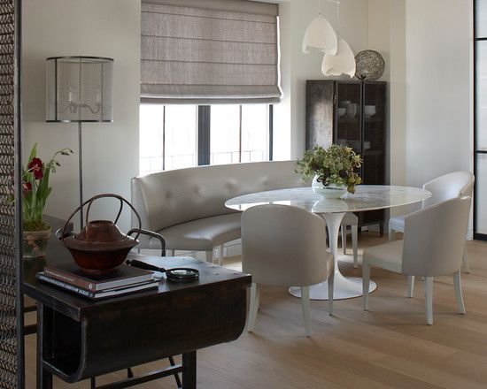 Curved Banquette Home Design Pinterest