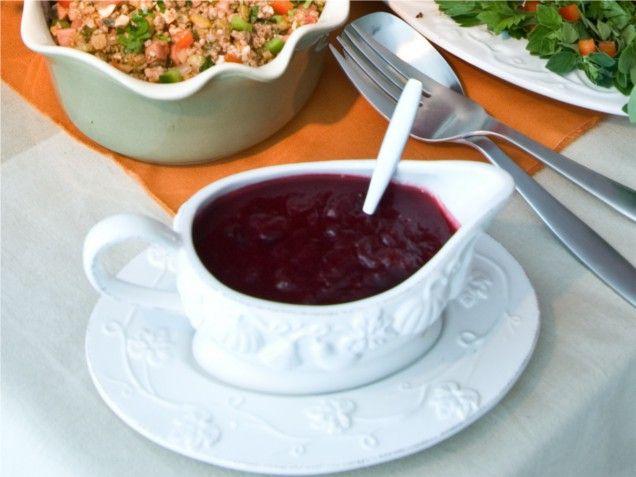 Ingrid Hoffman: Cranberry Passion Fruit Sauce