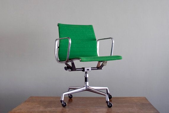 vintage green eames chair... sigh