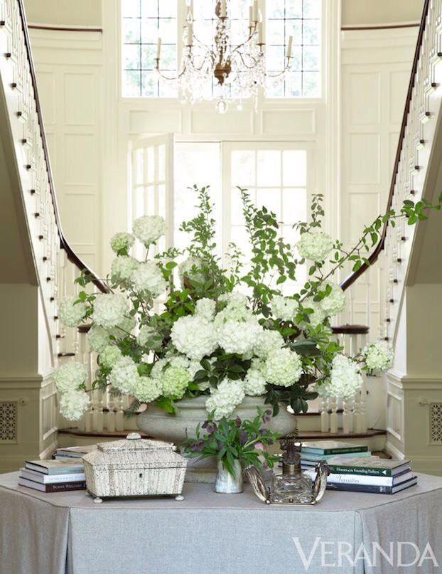 Foyer Table Floral Arrangements : Foyer floral arrangement gorgeous homes decor pinterest