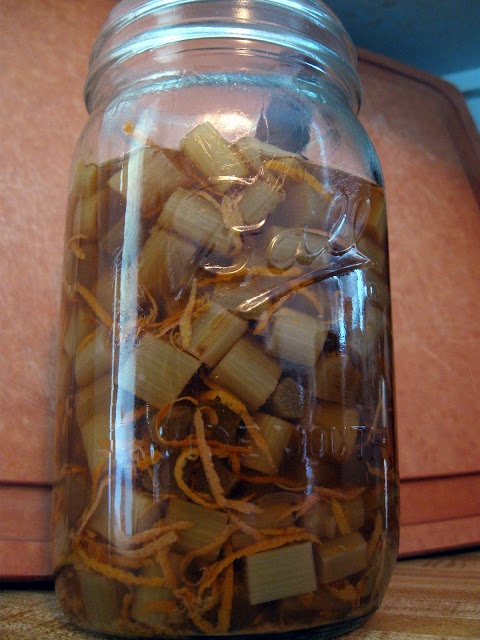 Rhubarb bitters   Recipes I want to try....   Pinterest