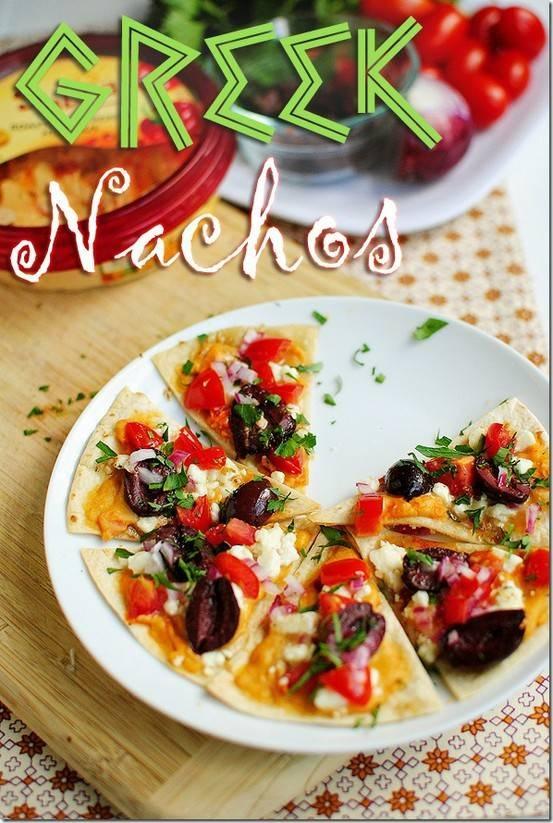 GREEK NACHOS - YUMMMMM   Food/Drinks   Pinterest