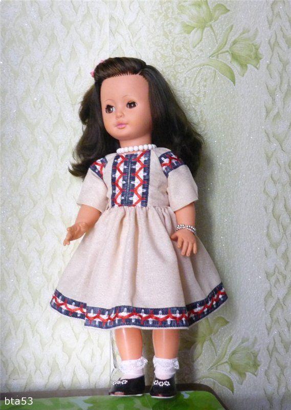 Платья для больших кукол своими руками 19