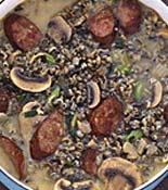 Sausage mushroom wild rice soup - dinner tonight! | Recipes to try ...