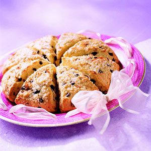 Chocolate and Coconut Scones : The chocolate scones are like dessert ...