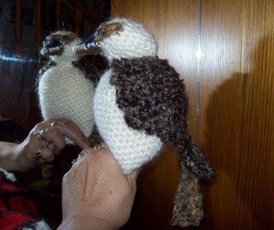 Cats-Rockin-Crochet Fibre Artist.: Crochet A Kookaburra