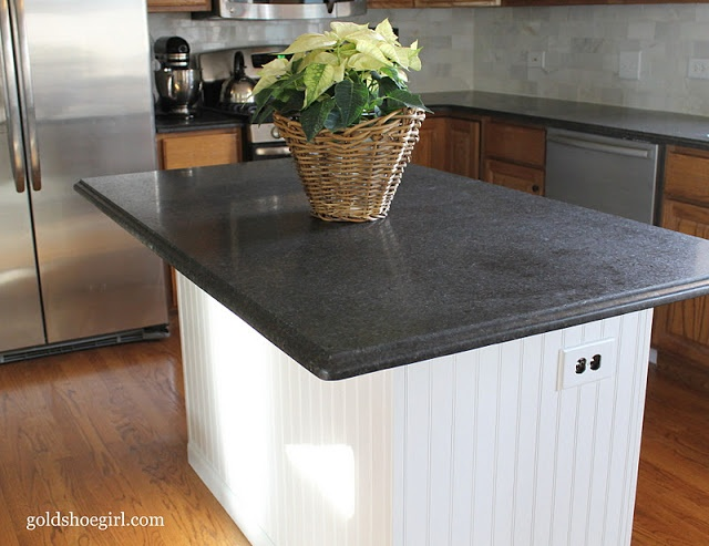 Beadboard Kitchen Island Soapstone Kitchens Pinterest