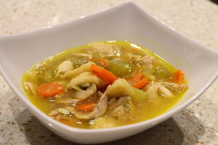 Chicken & dumpling soup | Food: Soups, Stews & Chilis | Pinterest