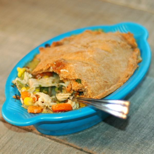 skinny chicken pot pie (no canned cream of anything, no make-your-own ...