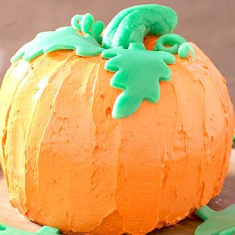 Pumpkin Shaped Vanilla Bundt Cake | Cake! | Pinterest