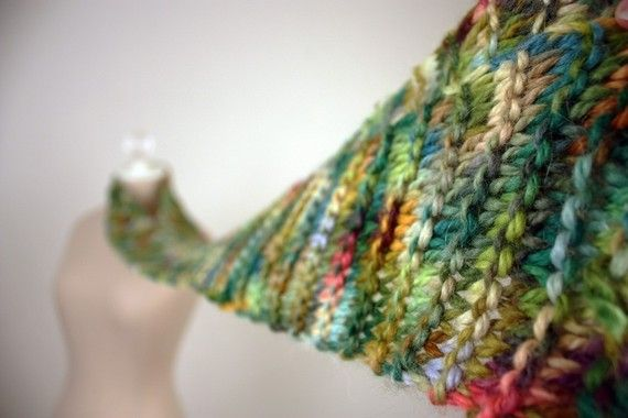 Knitting Pattern / Scarf / Christmas Lights Alpaca / PDF Digital ...