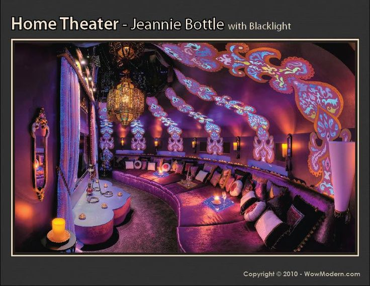 Jeannie bottle inspired home theater dream home pinterest - Inspiring home theater ideas furnishing and decorating ...