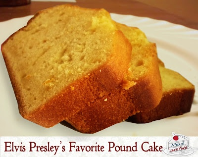 Elvis Presley's Favorite Pound Cake Recipe - Guaranteed to Get You ...